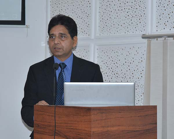 Director General - Dr. Arun K. Tripathi
